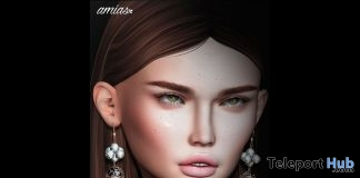 Earrings May 2019 Group Gift by amias - Teleport Hub - teleporthub.com