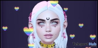 Rainbow Floaty Hearts May 2019 Gift by witchie - Teleport Hub - teleporthub.com