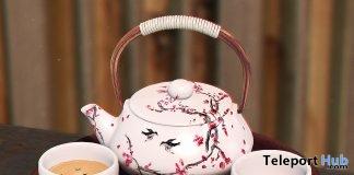 Tea Set May 2019 Group Gift by kotte- Teleport Hub - teleporthub.com