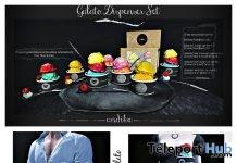 Gelato Dispenser Set & Take Away Gelato May 2019 Group Gift by Andika- Teleport Hub - teleporthub.com