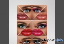 Elegance Makeup Pack For Catwa & Genus Heads May 2019 Group Gift by The Face - Teleport Hub - teleporthub.com