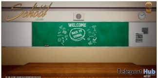 Back To School Backdrops June 2019 Gift by The Bearded Guy - Teleport Hub - teleporthub.com