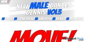 New Release: Dennis Vol 3 Bento Dance Pack by MOVE! Animations Cologne - Teleport Hub - teleporthub.com