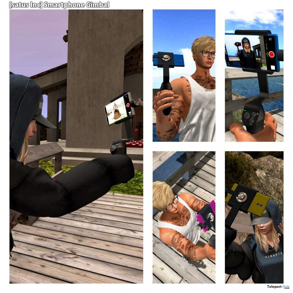 New Release: Smartphone Gimbal by [satus Inc]- Teleport Hub - teleporthub.com