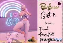 Yoga Pose June 2019 Group Gift by Believe- Teleport Hub - teleporthub.com