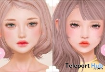 Coco Catwa Head Skin Applier & Yui Genus Head Skin Applier June 2019 Group Gift by MOMOCHUU - Teleport Hub - teleporthub.com