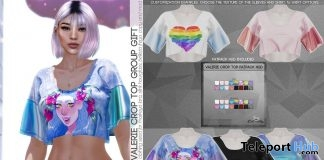 Valerie Crop Top Fatpack June 2019 Group Gift by Caboodle - Teleport Hub - teleporthub.com