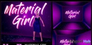 Material Girl Backdrop June 2019 Group Gift by NinaX- Teleport Hub - teleporthub.com