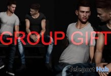 Conversation Pose June 2019 Group Gift by WRONG- Teleport Hub - teleporthub.com