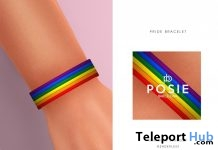 Pride Bracelet June 2019 Group Gift by POSIE- Teleport Hub - teleporthub.com