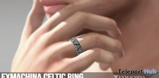 Celtic Ring June 2019 Group Gift by EXMACHINA - Teleport Hub - teleporthub.com