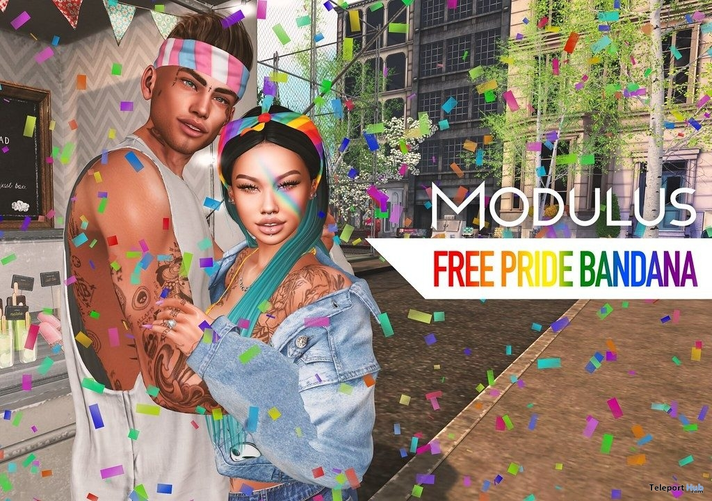Pride Bandana June 2019 Gift by MODULUS- Teleport Hub - teleporthub.com