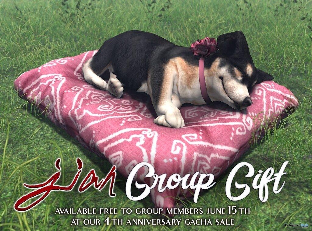 Corgi Sleepy Boi June 2019 Group Gift by JIAN- Teleport Hub - teleporthub.com