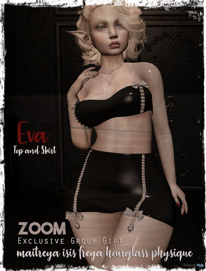Eva Outfit June 2019 Group Gift by zOOm - Teleport Hub - teleporthub.com