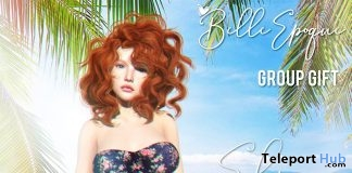 Elise Swimsuit Fatpack June 2019 Group Gift by Belle Epoque- Teleport Hub - teleporthub.com