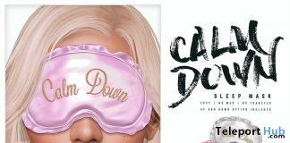 Calm Down Sleep Mask June 2019 Group Gift by e.marie- Teleport Hub - teleporthub.com