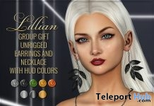 Earring and Necklace Fatpack June 2019 Group Gift by ANTAYA- Teleport Hub - teleporthub.com