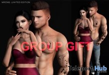Couple Pose June 2019 Group Gift by WRONG - Teleport Hub - teleporthub.com