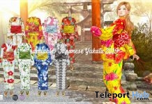 Japanese Yukata 2019 50% Off Promo by {amiable} @ N21 June 2019 - Teleport Hub - teleporthub.com