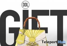 Blow Your Mind Yellow Bag July 2019 Gift by [DDL] Accessories - Teleport Hub - teleporthub.com
