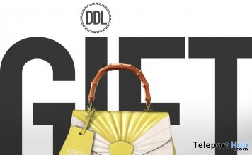 Blow Your Mind Yellow Bag July 2019 Gift by [DDL] Accessories- Teleport Hub - teleporthub.com