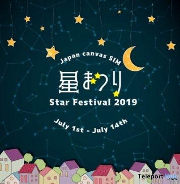 Japan Canvas Sim Star Festival 2019- Teleport Hub - teleporthub.com