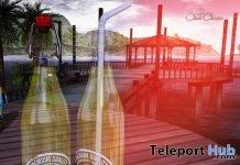 Lemonade Bottle June 2019 Gift by ChicChica- Teleport Hub - teleporthub.com