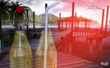 Lemonade Bottle June 2019 Gift by ChicChica - Teleport Hub - teleporthub.com