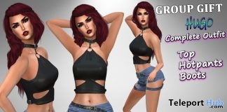 Hugo Outfit June 2019 Group Gift by Velvets Dreams - Teleport Hub - teleporthub.com
