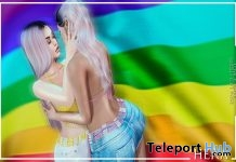 Love Is Love Couples Pose June 2019 Group Gift by HERA - Teleport Hub - teleporthub.com