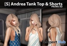 New Release: [S] Andrea Tank Top & Shorts by [satus Inc] - Teleport Hub - teleporthub.com