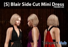 New Release: [S] Blair Side Cut Mini Dress by [satus Inc] - Teleport Hub - teleporthub.com