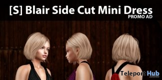 New Release: [S] Blair Side Cut Mini Dress by [satus Inc]- Teleport Hub - teleporthub.com