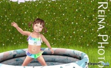 Kid Single Pose With Full Scene SK0022 June 2019 Gift by Reina Photography - Teleport Hub - teleporthub.com