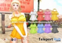Halter Neck Swimming Suits 50% Off Promo by {amiable} @ SUMMERFEST 2019 - Teleport Hub - teleporthub.com