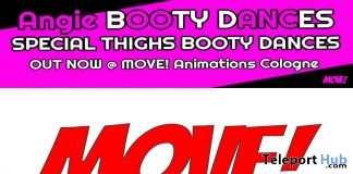 New Release: Angie Booty Bento Dance Pack by MOVE! Animations Cologne - Teleport Hub - teleporthub.com