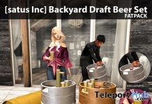 New Release: Backyard Draft Beer Set by [satus Inc] - Teleport Hub - teleporthub.com