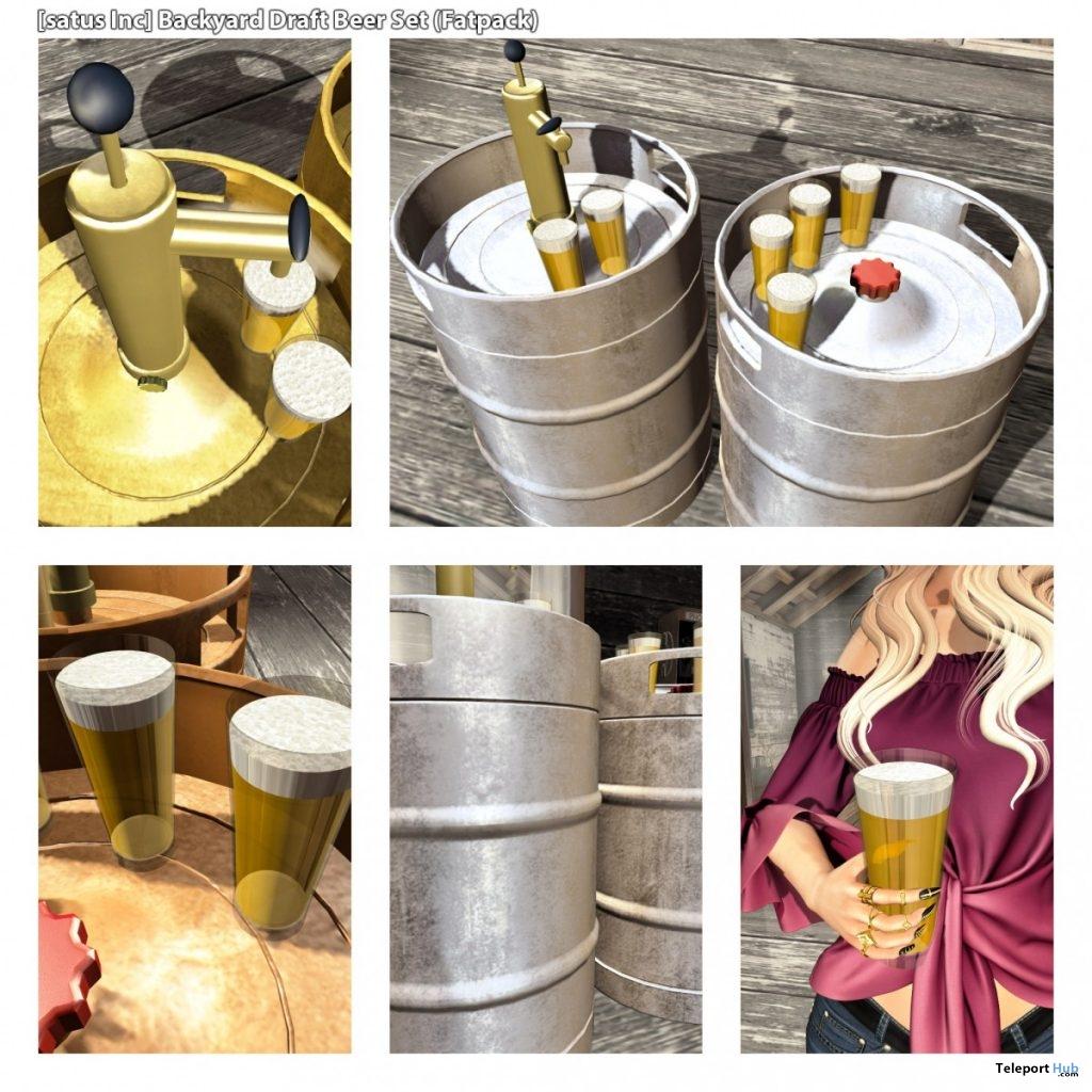 New Release: Backyard Draft Beer Set by [satus Inc]- Teleport Hub - teleporthub.com