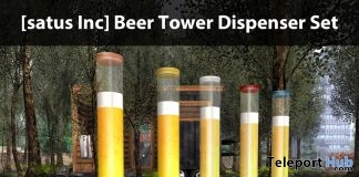 New Release: Beer Tower Dispenser Set by [satus Inc] - Teleport Hub - teleporthub.com