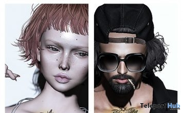Unisex Tattoo 1801 Japonica July 2019 Gift by Chat Noir - Teleport Hub - teleporthub.com