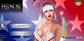 Liberty in World Swimsuit July 2019 Group Gift by HYPNOSE- Teleport Hub - teleporthub.com