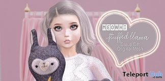 Stuffed Llama July 2019 Group Gift by [meowhi]- Teleport Hub - teleporthub.com