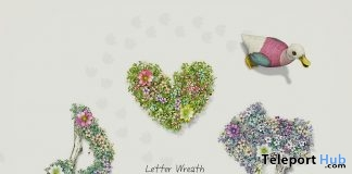 Letter Wreath Marks July 2019 Group Gift by HPMD - Teleport Hub - teleporthub.com