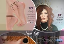 Sandy Anklet, Zayra Earrings, Mildred Set, & Camy Leg Chain July 2019 Group Gift by Supernatural- Teleport Hub - teleporthub.com