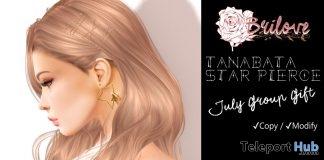 Tanabata Star Pierce July 2019 Group Gift by Brilove- Teleport Hub - teleporthub.com