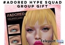 Tidelander Lashes 4th Edition July 2019 Group Gift by #adored- Teleport Hub - teleporthub.com