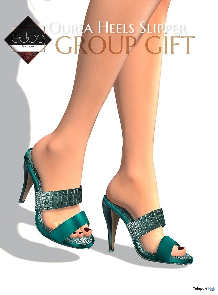 Ourea Heels July 2019 Group Gift by E.D.D.A Boutique - Teleport Hub - teleporthub.com