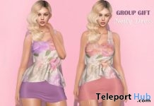 Nelly Dress July 2019 Group Gift by Hilly Haalan - Teleport Hub - teleporthub.com