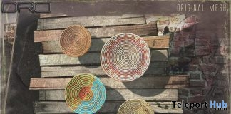 Woven Decor Trivets July 2019 Group Gift by DRD- Teleport Hub - teleporthub.com
