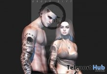 Billie Unisex Arm Tattoo July 2019 Group Gift by Fenrir - Teleport Hub - teleporthub.com